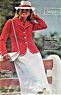 Sears Summer Catalog 1981