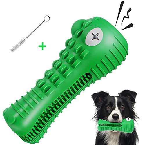 G.C Juguetes Morder para Perros Cocodrilo Masticar Chirriantes Interactivos Resistentes Cepillo de Dientes para Cachorro Mascotas de Pequeños Medianos y Grandes