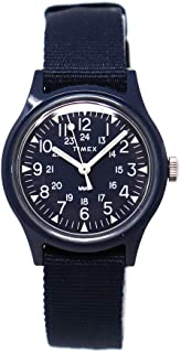 Timex Camper 29 mm Japan Limited Blue Dial Watch TW2T33800