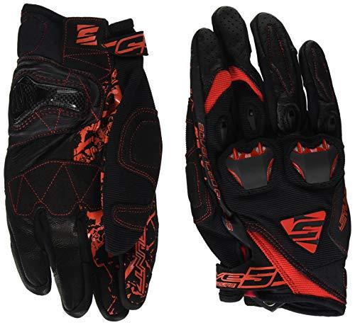 guanti five stunt evo black/red (xl)