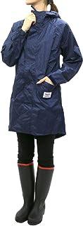 [サムシング エドウィン] レインウェア レディース レインコート 迷彩 収納袋 付き 防水 軽量 撥水