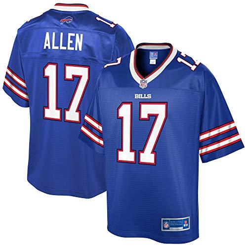 NFL PRO LINE Men's Josh Allen Royal Buffalo Bills Team Player Jersey