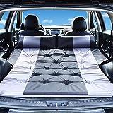 knowledgi - Colchón hinchable automático para camping, con bolsa de almacenamiento, para maletero y asiento trasero