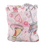 Heitune 1Pc Baby Kinder Folding Einkaufswagen Abdeckung Anti Schmutzige Kinder Trolley-Sitzstuhl-Abdeckung (Pink)