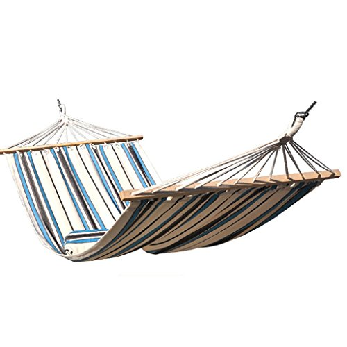 MMWYC Camping Hammock, Canvas Individual Outdoor Travel Hammock Portable Hammock With Tree Straps For Camping Hiking Backpacking 200x110cm(78.7x43.3in)