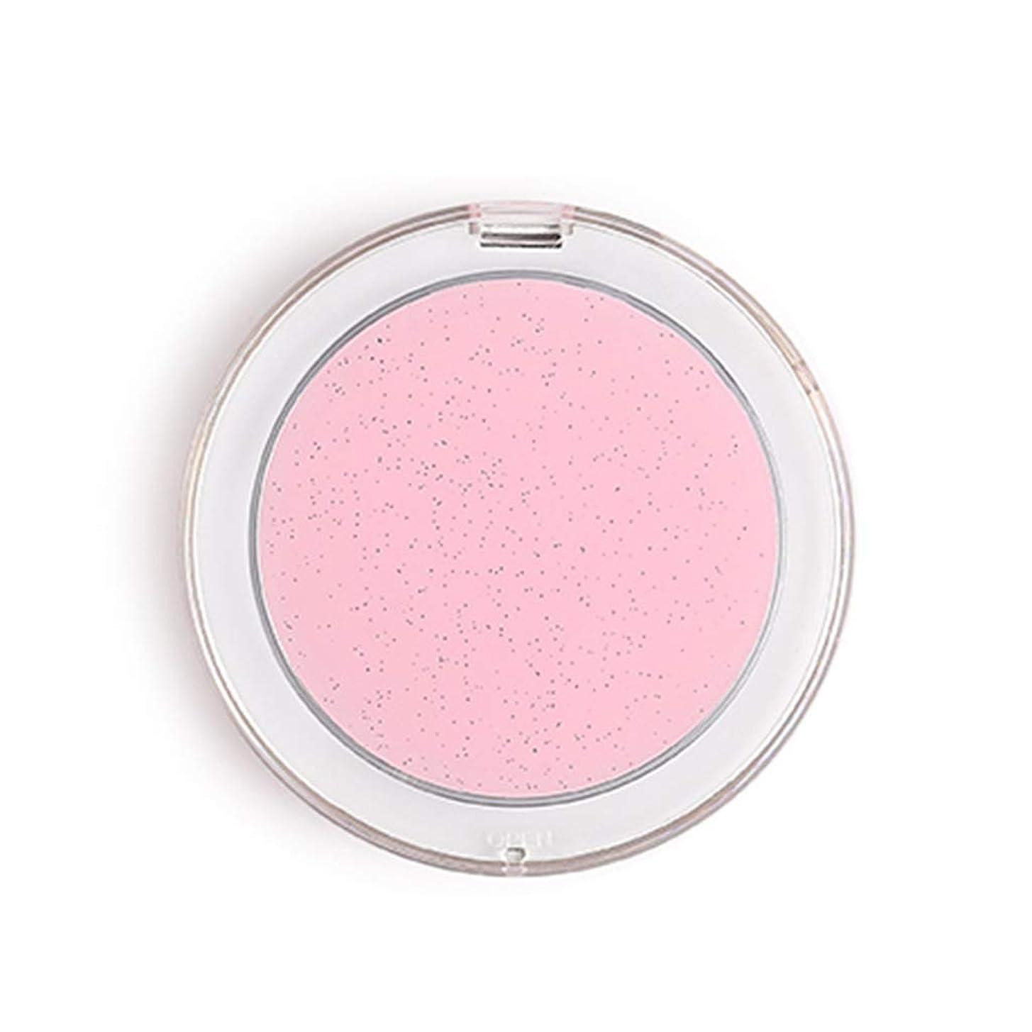 純度笑いアナウンサー化粧鏡化粧鏡LED照明付き化粧鏡ポータブル折りたたみ化粧鏡付きラウンドミラー両面小型ミラー (Color : PINK, Size : 8.5CM IN DIAMETER)