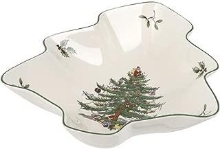 Spode Christmas Tree Dish, Multicolor