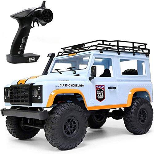 Niño Control remoto de automóvil Control de automóvil Control remoto 2.4G Toddler Control remoto Aleación de autos Carga RC Coche 4WD Off-Road RC Vehículo Bigfoot Monster Stimbating Coche 1/14 Escala