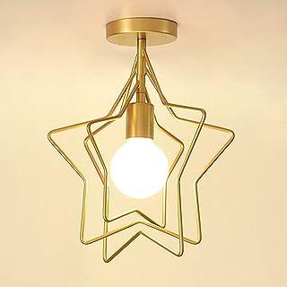 Simplicidad nórdicos aleación de Hierro ajustable, color Candelabros, personalidad – Lámpara de techo plafón, E27 creativos lámpara colgante lámpara pantalla