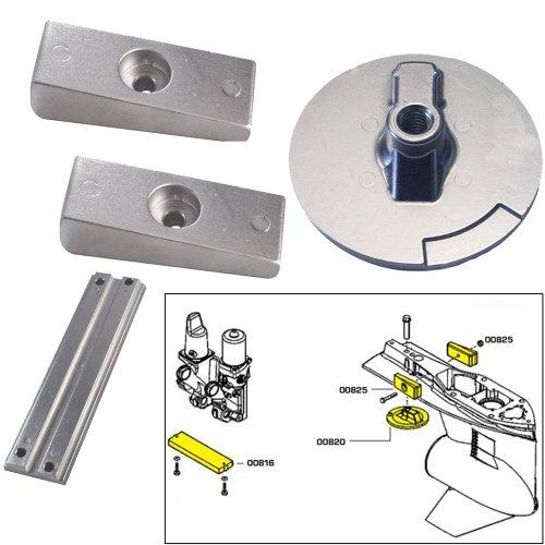 Best Buy! Tecnoseal Anode Kit w/Hardware - Mercury Verado 4 - Zinc