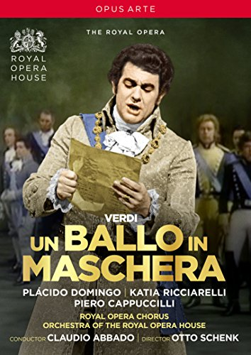 Verdi, G.: Ballo in maschera (Un) [Opera] (Royal Opera House, 1975) (NTSC) [DVD]
