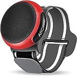 ANCwear Portable Bluetooth Speaker,TWS Dual Pairing Wearable Speaker 5.0, Outdoor Speaker for Motorcycle,Bike,Car,Shower,Hiking, Running