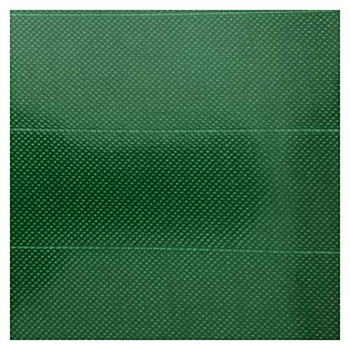 WHAIYAO Tarpaulin Waterproof Heavy Duty Camping Tent Tarp Cover For Truck Roofs Garden Furniture, 6 Colors, 12 Sizes (Color : Green, Size : 4x5M)