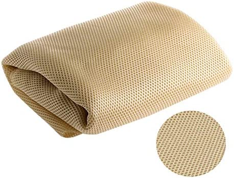 Enxiem Speaker Grill Cloth Stereo Grill Mesh Fabric Speaker Mesh Cloth Beige product image