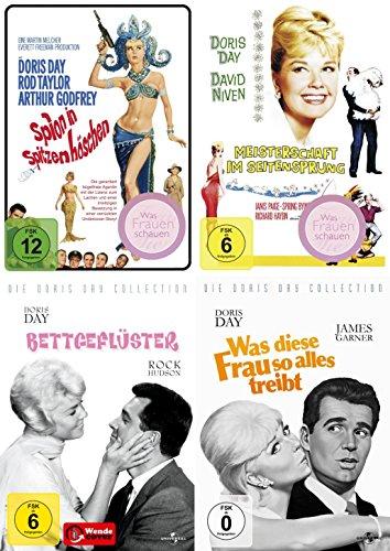 Doris Day Collection - Spion in Spitzenhöschen | Meisterschaft im Seitensprung | Was diese Frau so alles treibt | Bettgeflüster (4-DVD)