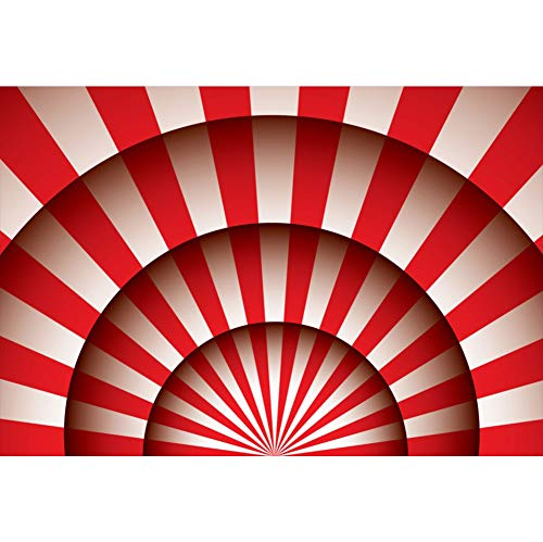 YongFoto 2,2x1,5m vinyl foto achtergrond circus thema's rode strepen circustent tent fotografie achtergrond partydecoratie video fotostudio achtergrond fotoshooting