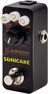 SONICAKE 5th Dimension Digital Modulation Guitar Effects Pedal 11 Mode of Phaser,..