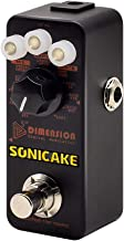 SONICAKE 5th Dimension Digital Modulation Guitar Effects Pedal 11 Mode of Phaser, Flanger, Chorus, Tremolo, Vibrato, Autowah