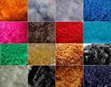 Fabrics-City MAUSGRAU LANGFLOR HOCHLANDRIND Fellimitat