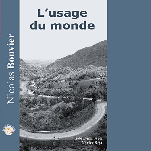 L'usage du Monde audiobook cover art