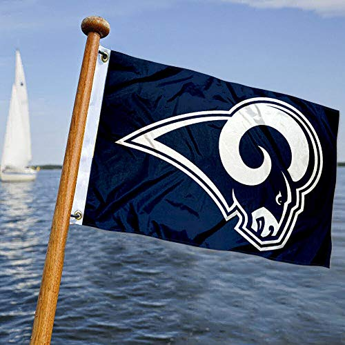 WinCraft Los Angeles Rams Boat and Golf Cart Pennant Flag