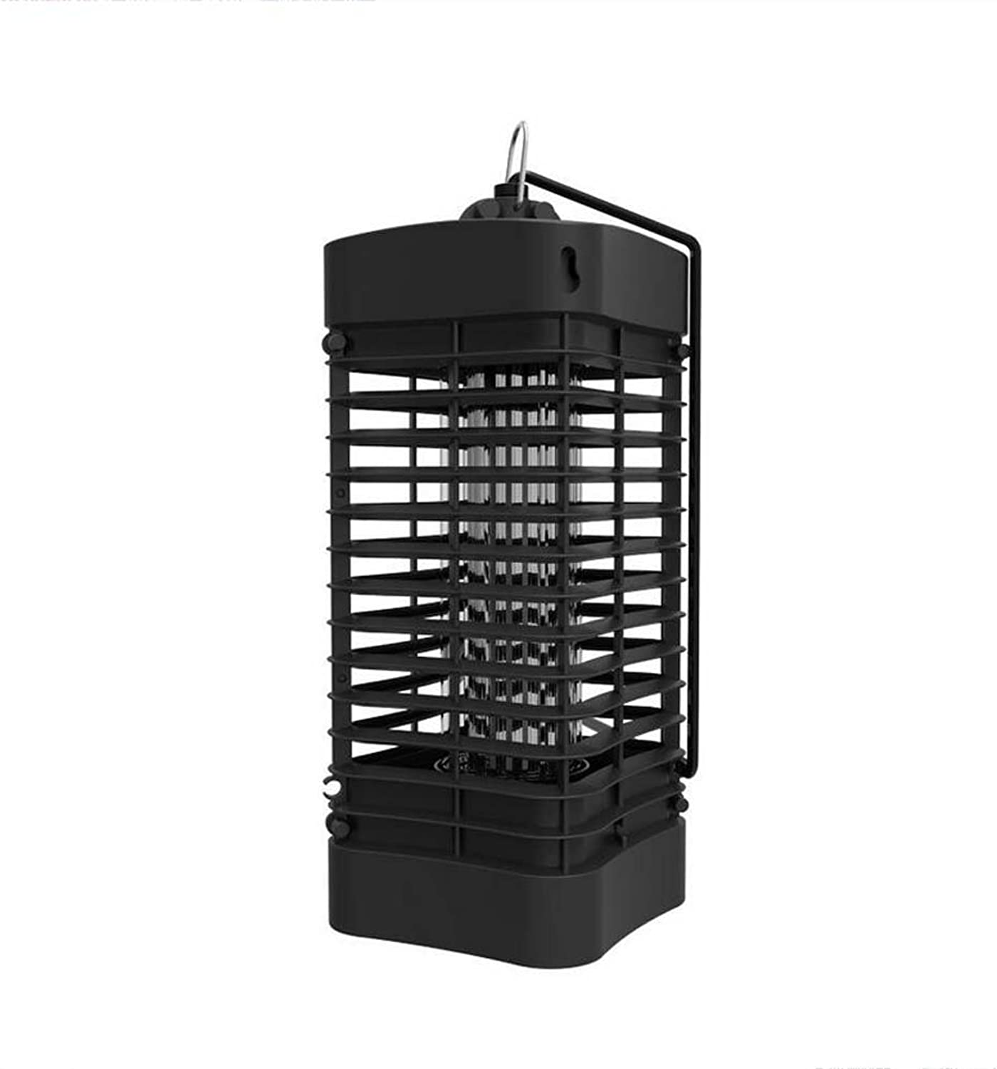 Household Photocatalyst Mosquito Lamp,Bug Zapper, No Radiation Electronic Mosquito Insect Killer,UltraQuiet LED Indoor Fly Pest Catcher for Home Kitchen, 4W, Black