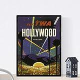 Nacnic Vintage Poster Vintage Poster Amerika. Hollywood. A3