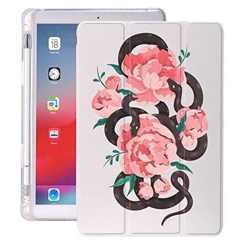 Arte de Serpiente con Soporte de lápiz para iPad Air 3 10.5 Pro 11 2020 Air 4 10.9 2018 9.7 6º 7º Caso de la 8ª generación 10.2 2019 Mini 5 (Color : 582, Size : Mini 5)