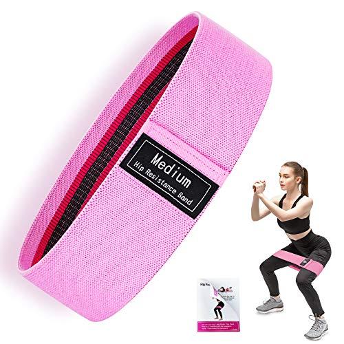 Set di Fasce di Resistenza con Ancoraggio per Porta e Maniglie Yoga Pilates Elasticity Fitness Tube Workout Bands, per Guadagno Muscolare, Aumento della Forza, riduzione del Grasso