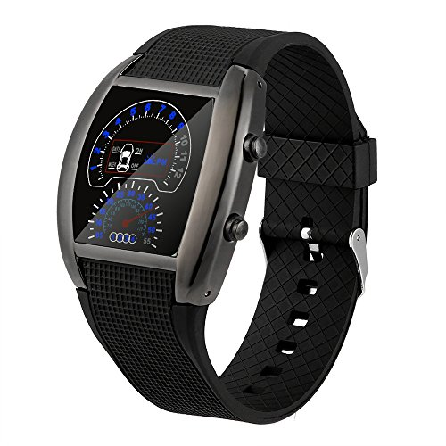 Reloj de pulsera con pantalla digital LED Yesmile Delfín Pulsera deportiva de moda joven diseño moderno reloj deportivo para sports