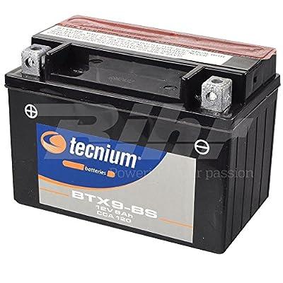 V PLATINUM 8430525048294 Battery Platinum YTX9-BS de BS, Negro