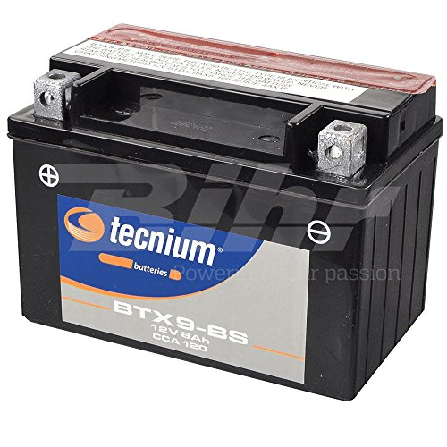 V PLATINUM 8430525048294 Battery Platinum YTX9-BS de BS, Negro ⭐