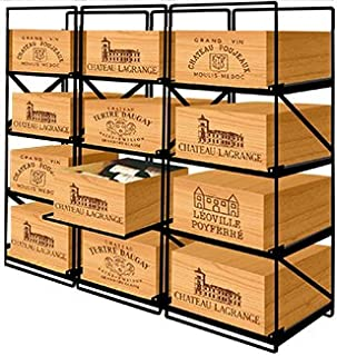 Modulorack La Seule Solution pour Stocker 12 caisses de vins et 144 Bouteilles - ACI-MOD511H