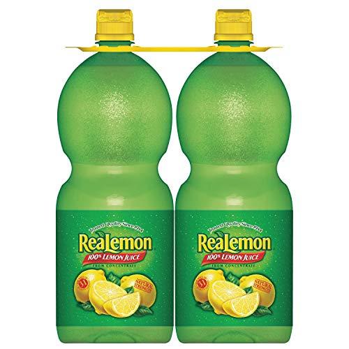 Real Lemon ReaLemon Lemon Juice, 48 Fl Oz, 96 Fl Oz