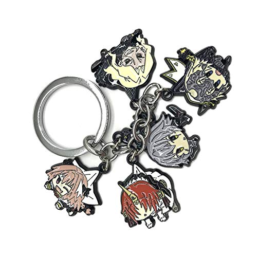 CAR-TOBBY Cosplay Action Figuur Mizuno Ami Sleutelhanger Anime Sailor Maan Sleutelhanger Hangende Hanger Accessoires Cadeau (H03)