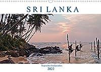 Sri Lanka, tropisches Inselparadies (Wandkalender 2022 DIN A3 quer): Endlose Straende mit Kokospalmen, historische Kultur und gruene Teeplantagen - Sri Lanka verzaubert durch seine Vielfalt. (Monatskalender, 14 Seiten )