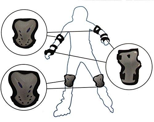6 er Set Inliner-Skate Protektoren Schoner ver. Größen (XL)