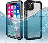 iPhone 11 Waterproof Case, Dooge IP69K Shockproof/Dirtproof/Snowproof Full-Sealed Full-Body Heavy Duty Protective Case with Built-in Screen Protector for Apple iPhone 11/XI (6.1inch)
