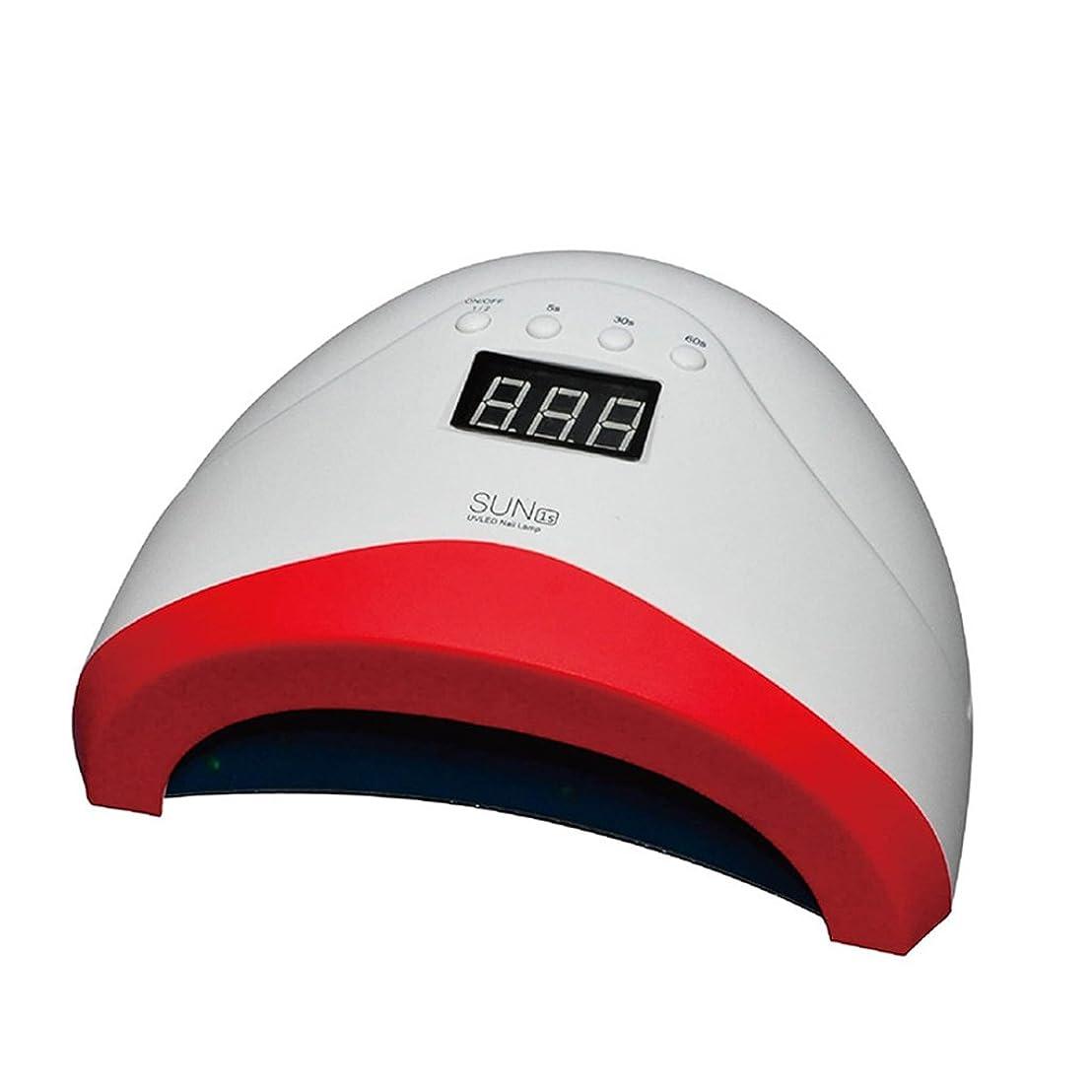 破裂雇用横爪ランプ3タイマー設定(5S / 30S / 60S)と自宅用自動センサープロフェッショナル硬化ランプとUVジェルネイルポリッシュ乾燥機LED