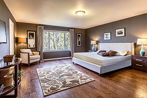 Sleepers - Materasso Dormipure 140 x 190 cm, in memory foam, spessore 16 cm, in schiuma HD, 9 zone equilibrate