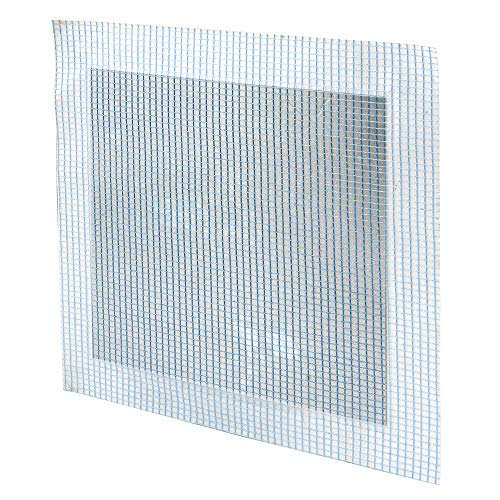 Prime-Line MP9286 Self-Adhesive Drywall Repair Patch, X 12-Inch, Fiber Mesh Over Galvanized Plate, Pack of 1
