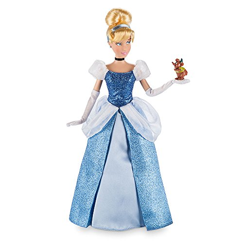 Disney Cinderella Classic Doll with Gus Figure - 12 Inch