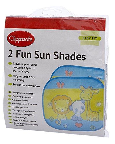 Clippasafe Fun Sunscreens Tendine da Sole Per Auto