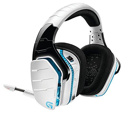 ワイヤレスゲーミングヘッドセット Logicool ロジクール G933rWHd ホワイト Dolby DTS 7.1ch 臨場感 RGB プログラム可能なGキー    PS4/PC/Xbox/Switch/スマホ ステッカー特典付き 国内正規品 2年間メーカー保証