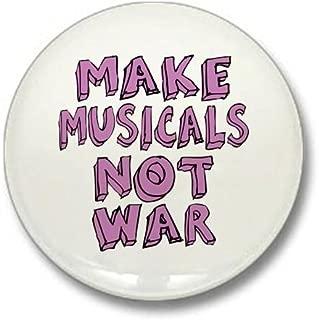 Make Musicals Not War Mini Button 1