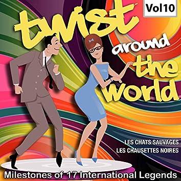 Milestones of 17 International Legends Twist Around The World, Vol. 10