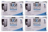 RPS PRODUCTS BestAir Trash Compactor Bags(16 D. x 9 W. x 17 H,Pack of 12) (4 Pack)