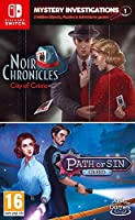 Mystery Investigations 1: Noir Chronicles: City of Crime + Path of Sin: Greed (Nintendo Switch) (輸入版)