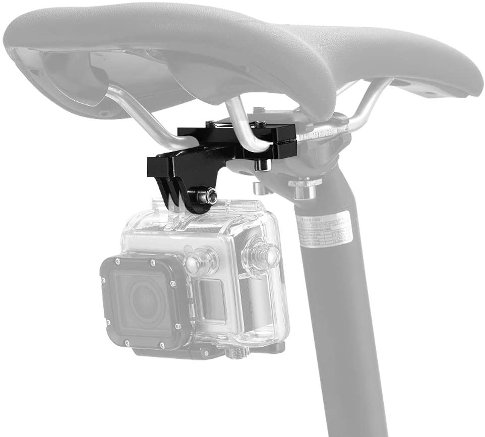 ParaPace Bicycle Saddle Sale item Rail Camera Go Mount Seat Bike 4 years warranty for
