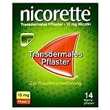 nicorette TX Pflaster 15 mg zur Raucherentwöhnung, 14 St. Pflaster -